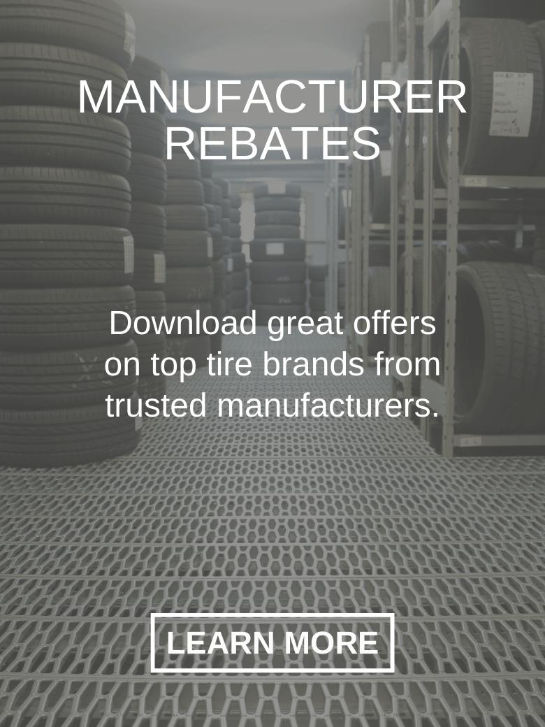 Manufacturer rebates