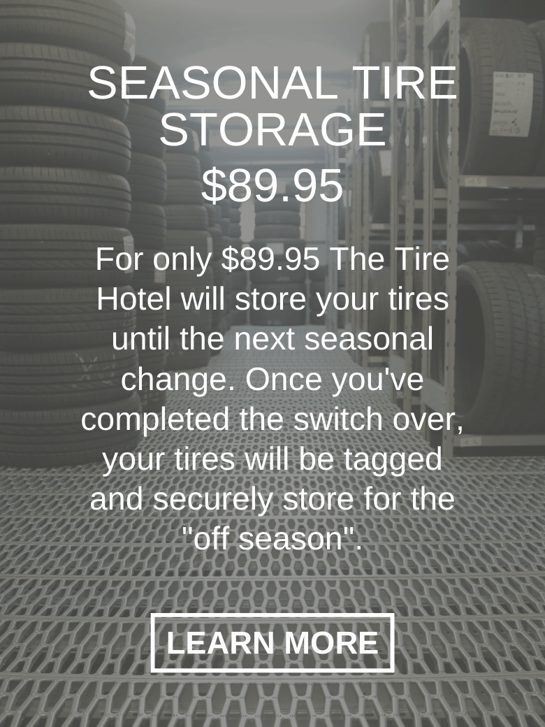 seasonal tire storgage