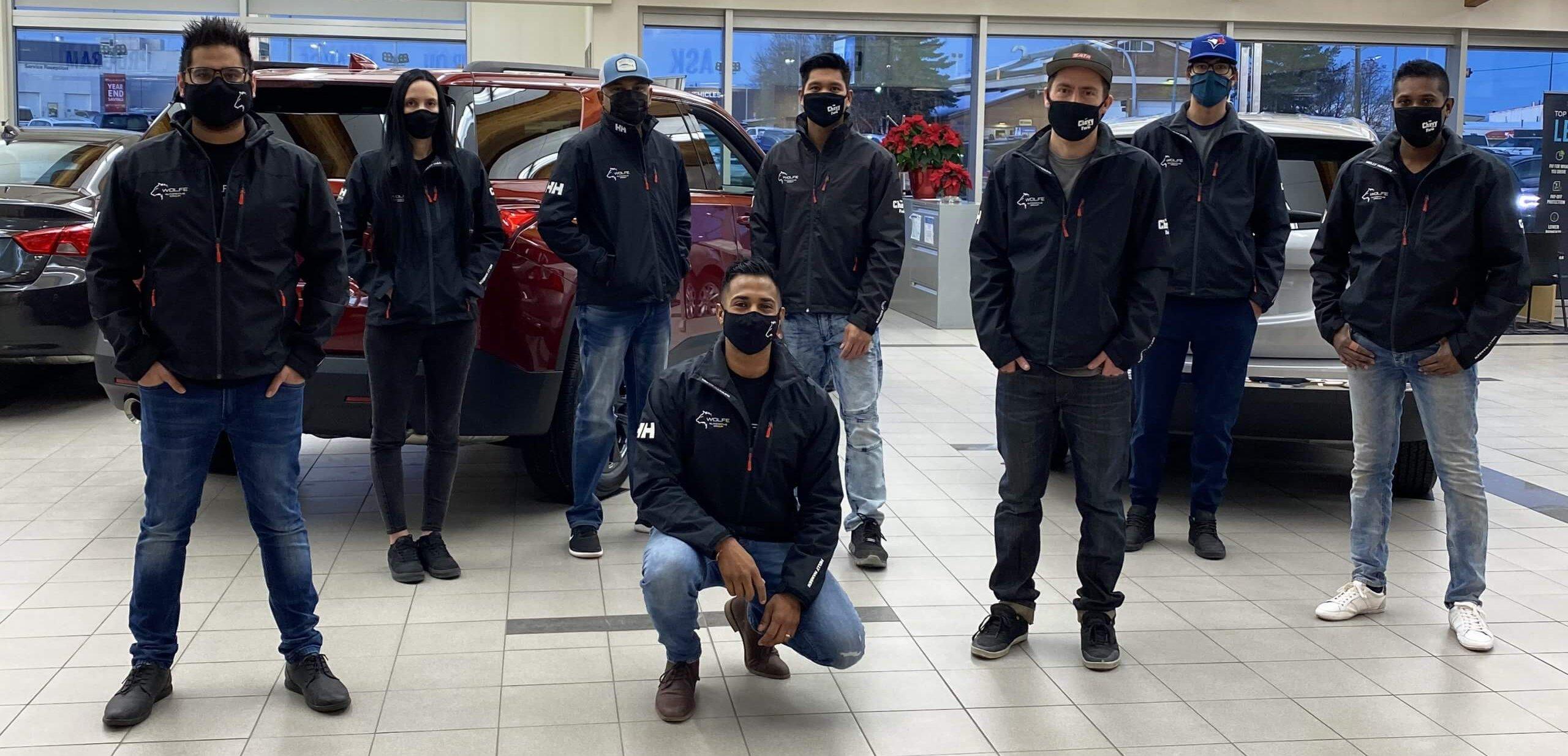 Westgate Body Shop team