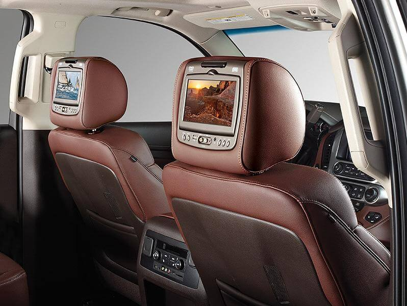 headrest mounted screens