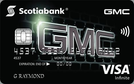 GMC Visa infinite Card