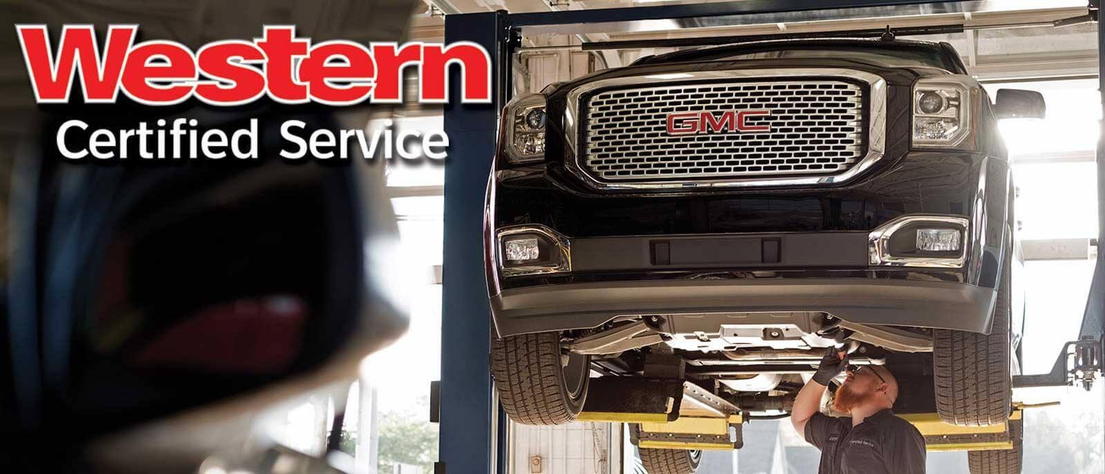 Western GMC Buick Certified Service