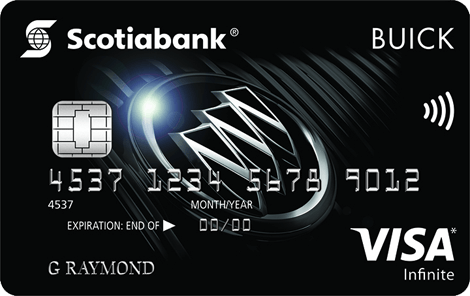 Buick Visa Infinite Card