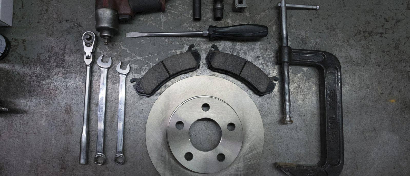 Brake rotor and tools