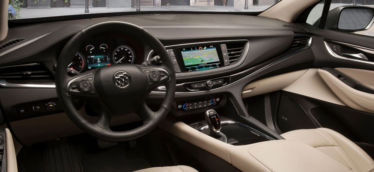 2020 Buick Enclave interior cockpit view