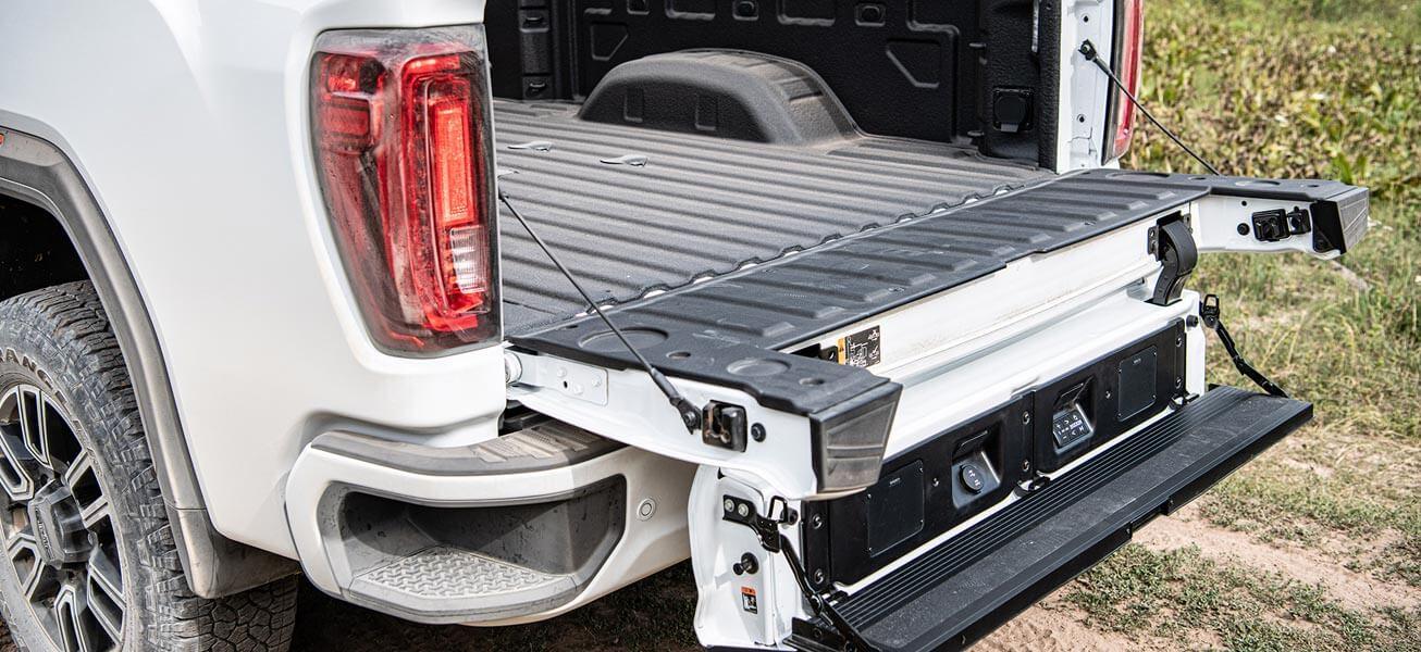 2020 GMC Sierra 2500HD MultiPro tailgate option