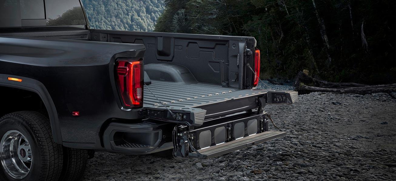 2020 GMC Sierra 3500HD optional MultiPro Tailgate