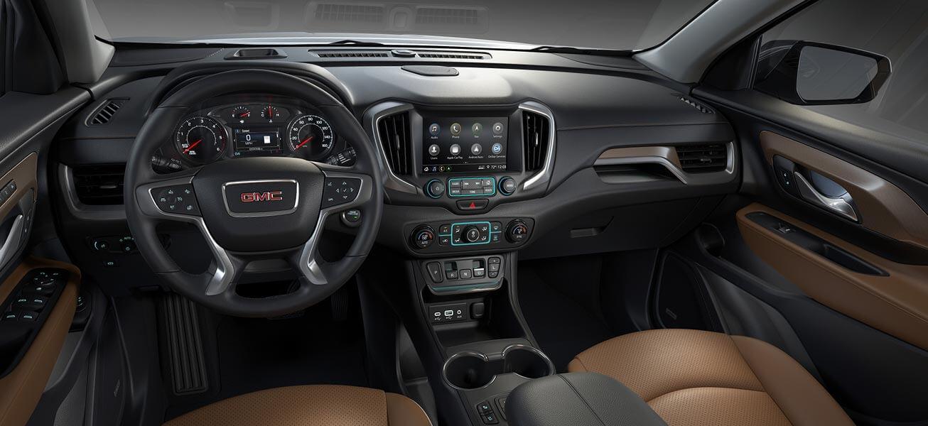 2020 GMC Terrain interior cockpit view