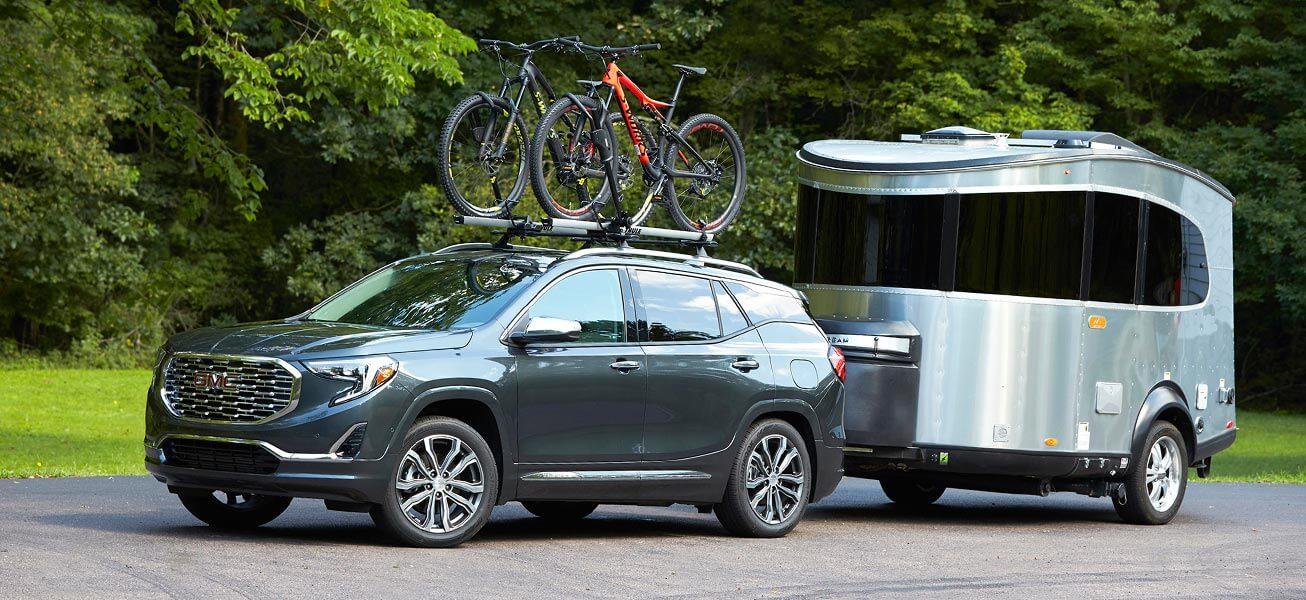 2020 GMC Terrain trailering in Alberta