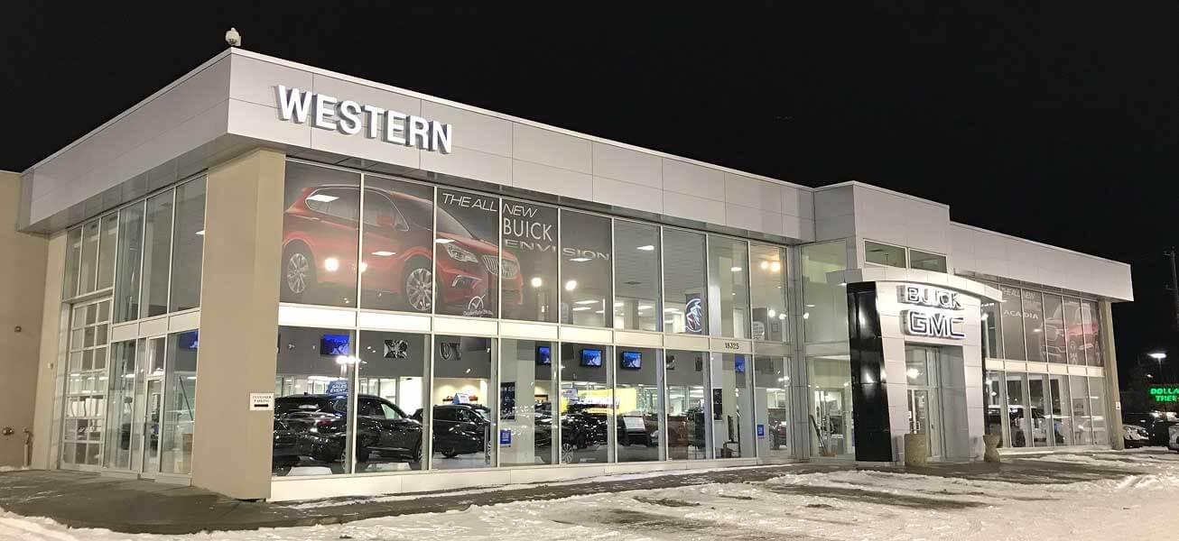 Western GMC Buick Edmonton AB GMC Dealer