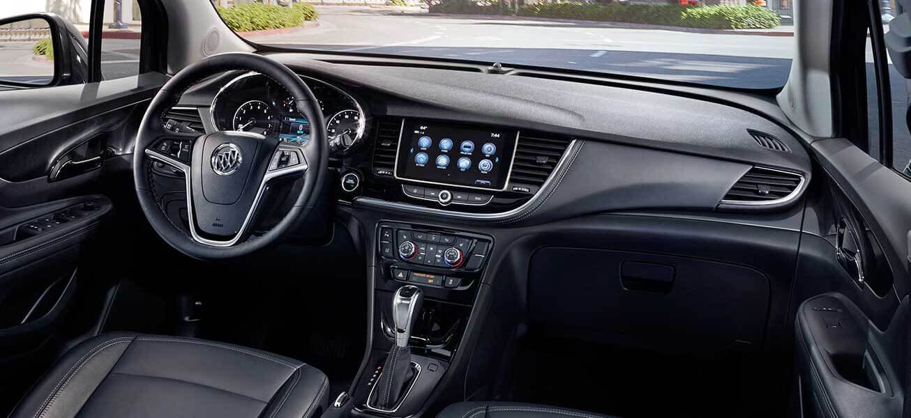 2020 Buick Encore Ebony leather interior