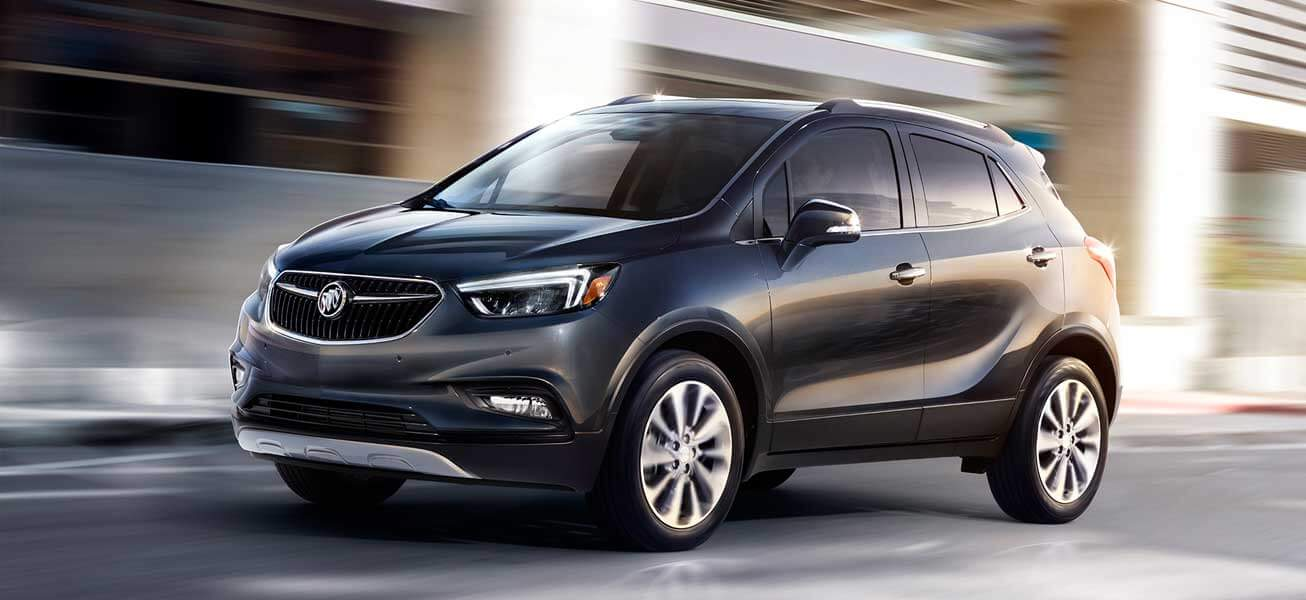 2020 Buick Encore driving near Edmonton AB