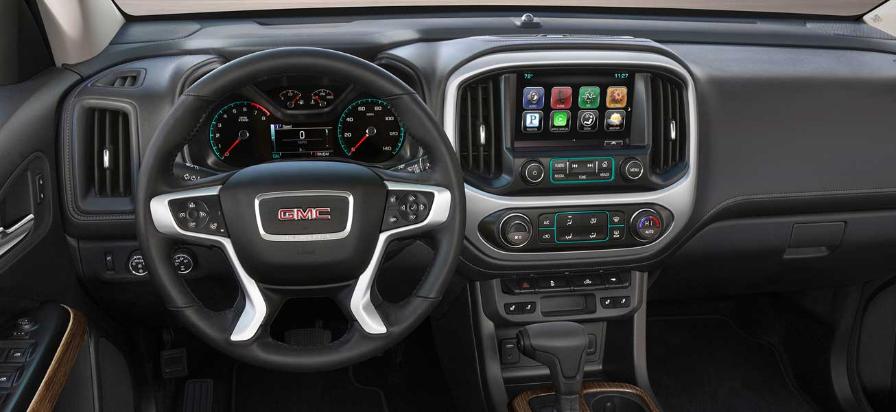 2020 GMC Canyon Denali interior cockpit view