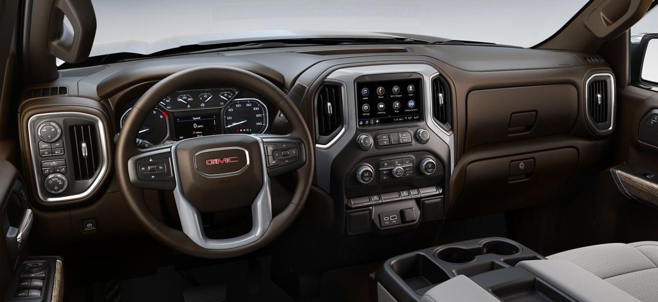 2020 GMC Sierra 1500 Elevation interior cockpit view