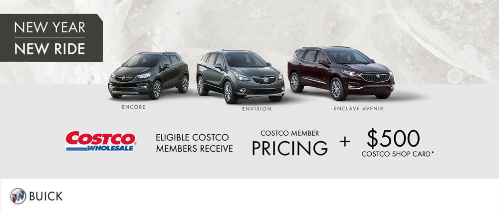 Buick SUV Costco Member Pricing + $500 Costco Shop Card