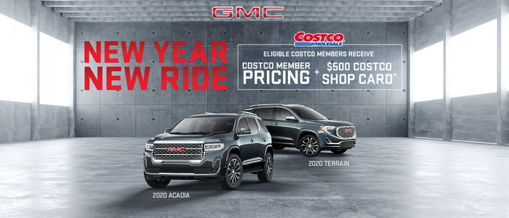 GMC SUV Costco Deal