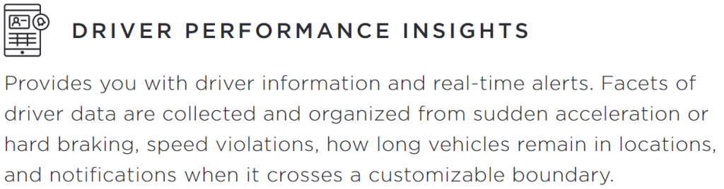Driver Performance Insights