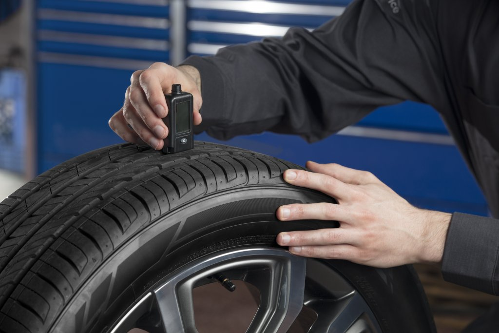 Tire Tread Measurement