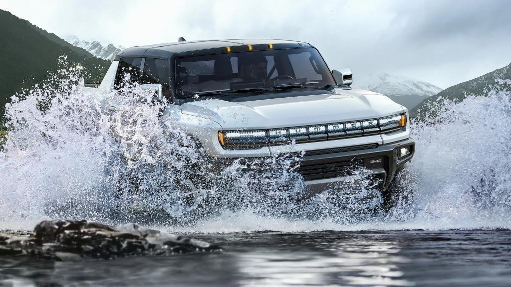 Hummer EV making a splash