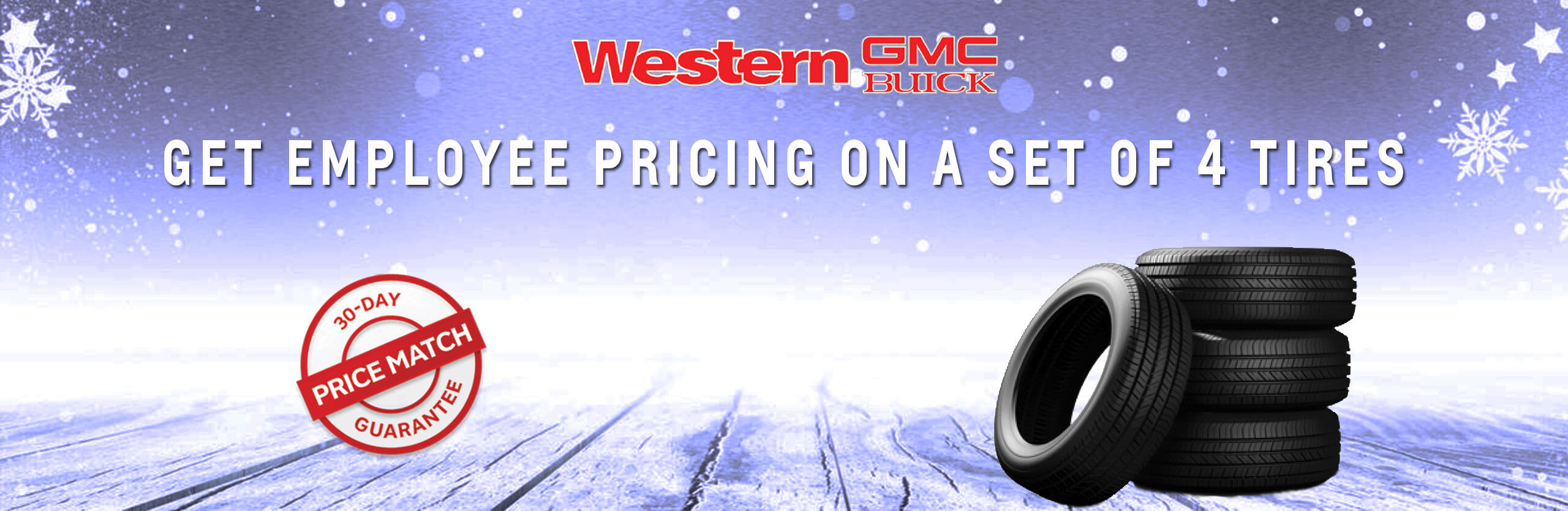 Winter Tire Employee Pricing