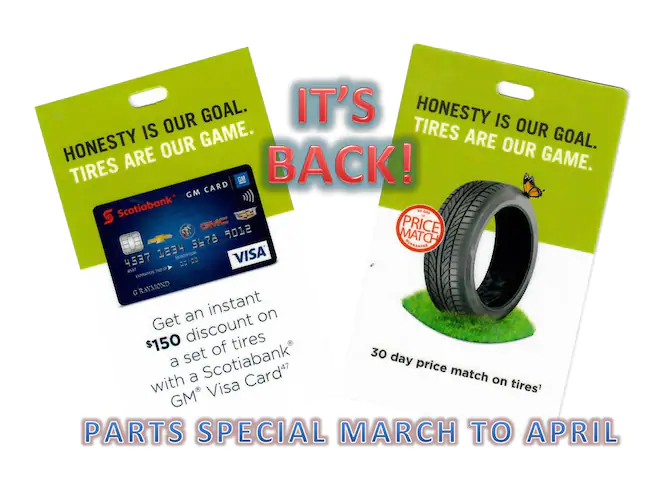 Parts Special March to April