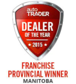 MURRAY CHEVROLET WINS PROVINCIAL DEALER OF THE YEAR
