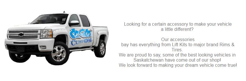Custom Trucks in Moose Jaw Saskatchewan