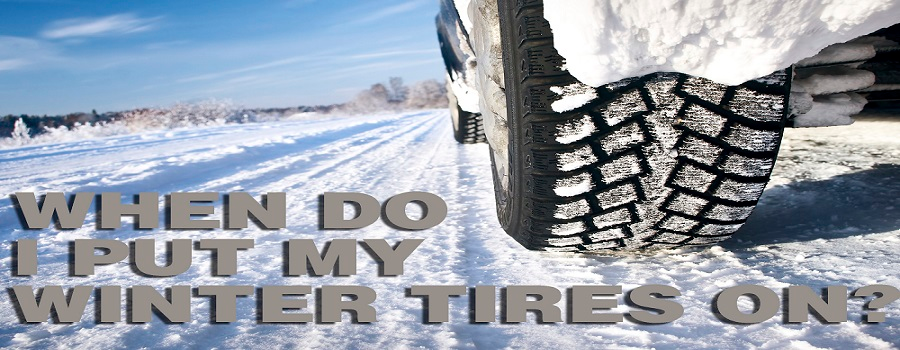 When do I put my tires on?