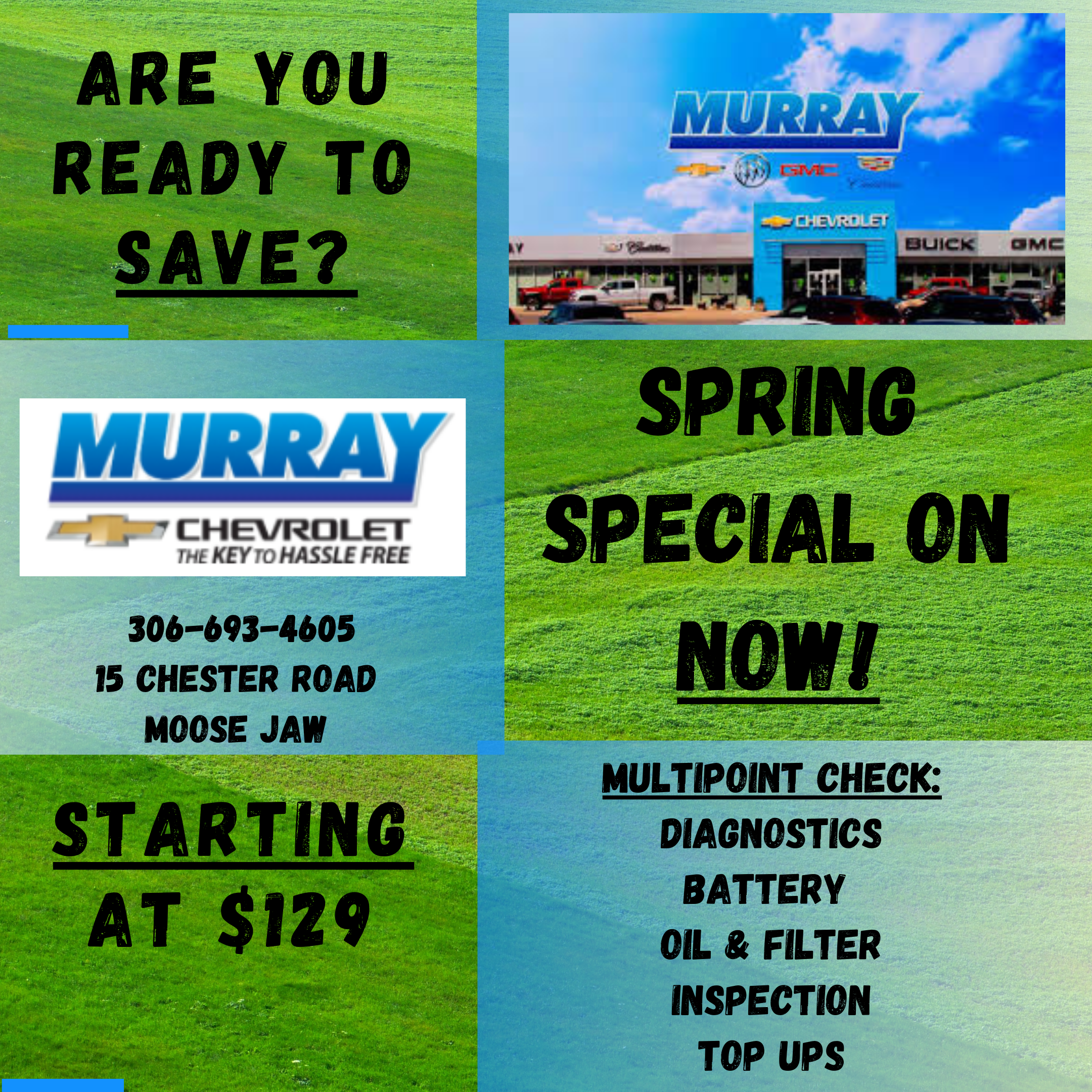 Service Spring Special