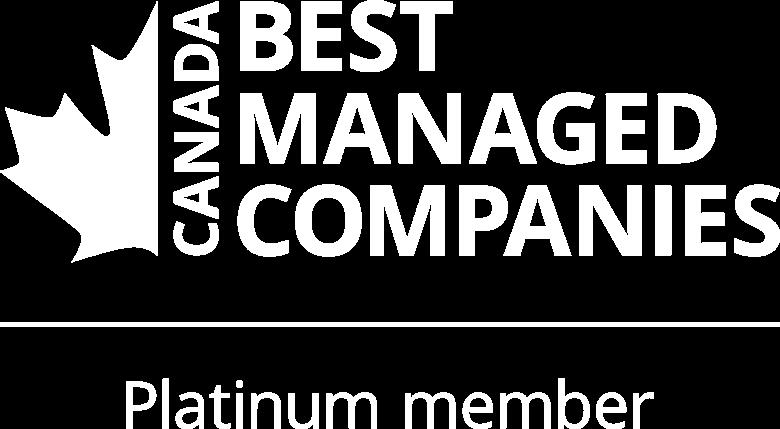Canada's Best Managed Companies Platinum Member
