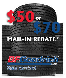 BFGoodrich Spring 2020 Mail-in Rebate