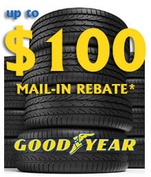 Goodyear Spring Mail-in Rebate