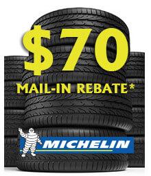 Michelin NEW VEHICLE TIRE SALE