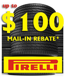Pirelli Spring Mail-in Rebate