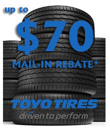 Toyo Tires Spring Mail-in Rebate
