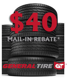 General Tire Spring Mail-in Rebate