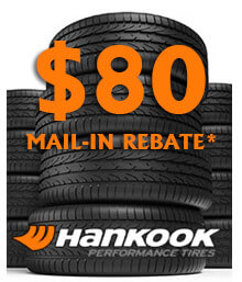 Hankook Spring Mail-in Rebate
