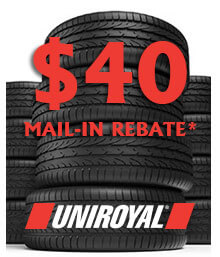 Uniroyal Spring 2020 Mail-in Rebate