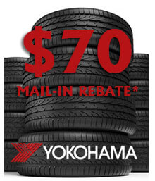 Yokohama Spring Mail-in Rebate