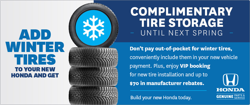 Complimentary Tire Storage