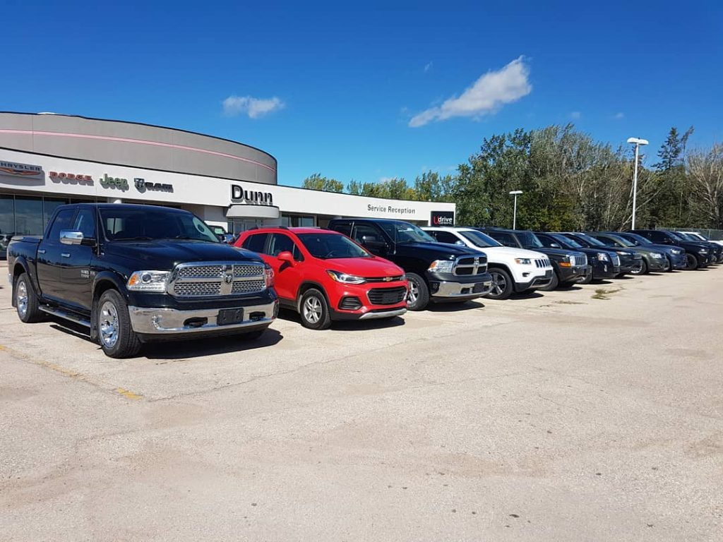 Dunn Ram Trucks Used near Winnipeg and Brandon, Manitoba