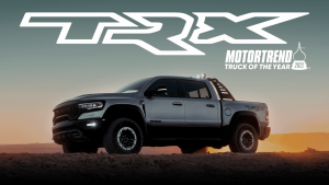 Ram 1500 TRX MotorTrend Truck of the Year
