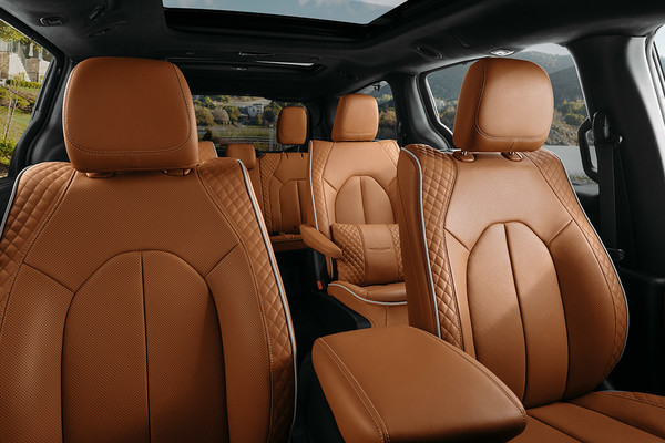 comfortable interior Pacifica Hybrid