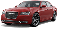 Chrysler 300 in Angelus Oaks