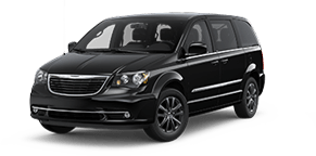 Chrysler Town & Country in Blue Jay