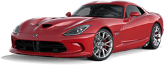Dodge Viper near Silverado title=