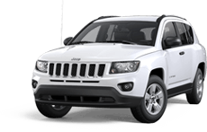Jeep Compass in Blue Jay