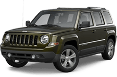 Jeep Patriot near Silverado title=