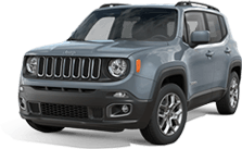 Jeep Renegade near Silverado title=