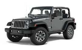 Jeep Wrangler in Rodeo